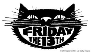 black cat Friday the 13th