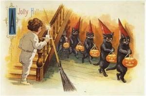 sneaky halloween kats