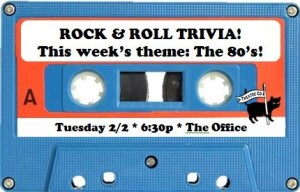80's Theme Rock and Roll Trivia 2