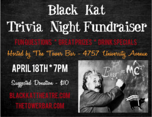 Trivia Fundraiser Postcard