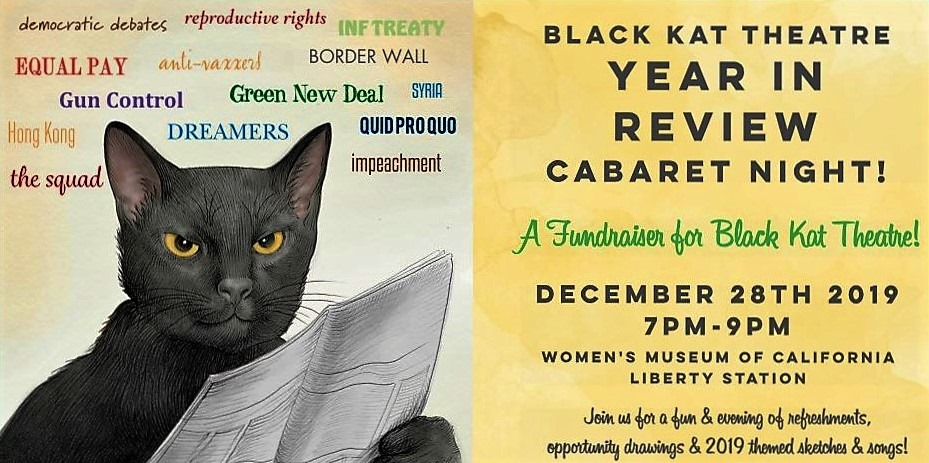 Black Kat Theatre – Year in Review Cabaret Fundraiser